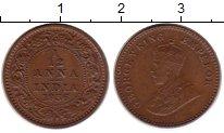 Изображение Монеты Британская Индия 1/12 анны 1936 Бронза XF