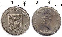 Изображение Монеты Остров Джерси 5 пенсов 1968 Медно-никель XF