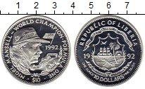 Изображение Монеты Либерия 10 долларов 1992 Серебро UNC