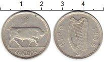 Изображение Монеты Европа Ирландия 1 шиллинг 1939 Серебро XF+