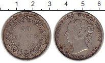 Изображение Монеты Канада Ньюфаундленд 50 центов 1835 Серебро VF