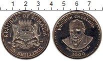 Изображение Монеты Африка Сомали 25 шиллингов 2000 Медно-никель UNC-