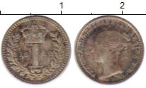 Изображение Монеты Великобритания 1 пенни 1842 Серебро Prooflike