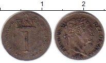 Изображение Монеты Европа Великобритания 1 пенни 1818 Серебро XF+