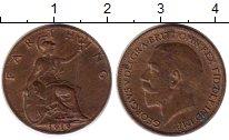 Изображение Монеты Великобритания 1 фартинг 1919 Бронза XF Георг V