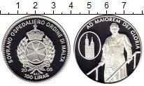 Изображение Монеты Европа Мальтийский орден 100 лир 2005 Серебро Proof