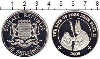 Изображение Монеты Африка Сомали 25 шиллингов 2005 Серебро Proof