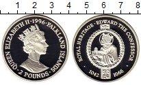 Изображение Монеты Фолклендские острова 2 фунта 1996 Серебро Proof-