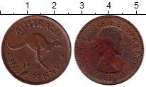 Изображение Монеты Австралия 1/2 пенни 1954 Бронза XF