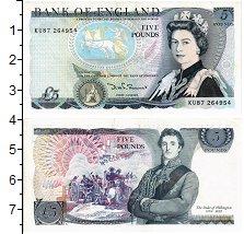 Изображение Банкноты Европа Великобритания 5 фунтов 0  UNC