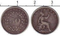 Изображение Монеты Ионические острова 30 лепт 1852 Серебро VF