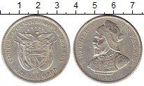 Изображение Монеты Панама 50 сентесим 1904 Серебро XF