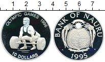 Изображение Монеты Науру 10 долларов 1995 Серебро Proof