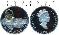 Изображение Монеты Канада 20 долларов 1991 Серебро Proof