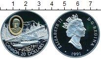 Изображение Монеты Северная Америка Канада 20 долларов 1991 Серебро Proof