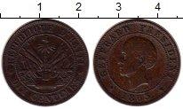 Изображение Монеты Гаити 10 сантим 1885 Медь XF