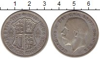 Изображение Монеты Великобритания 1/2 кроны 1929 Серебро XF
