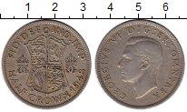Изображение Монеты Европа Великобритания 1/2 кроны 1948 Медно-никель XF