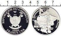 Изображение Монеты Африка Камерун 1000 франков 2018 Серебро Proof