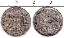 Изображение Монеты Перу 1 динер 1913 Серебро XF