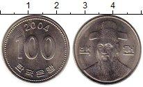 Изображение Монеты Южная Корея 100 вон 2004 Медно-никель UNC-