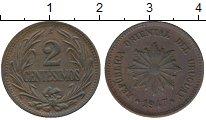 Изображение Монеты Уругвай 2 сентесимо 1947 Бронза XF
