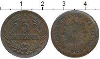 Изображение Монеты Южная Америка Уругвай 5 сентесим 1951 Бронза XF