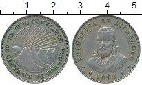 Изображение Монеты Северная Америка Никарагуа 50 сентаво 1952 Медно-никель XF