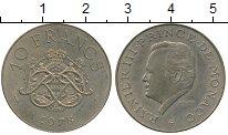 Изображение Монеты Монако 10 франков 1978 Бронза XF
