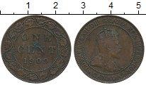 Изображение Монеты Канада 1 цент 1909 Бронза VF Эдуард VII