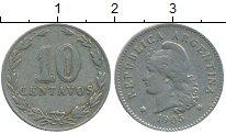 Изображение Монеты Южная Америка Аргентина 10 сентаво 1905 Медно-никель XF
