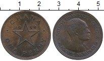 Изображение Монеты Африка Гана 1 пенни 1958 Бронза XF