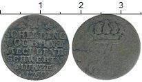 Изображение Монеты Германия Мекленбург-Шверин 1 шиллинг 1768 Серебро VF