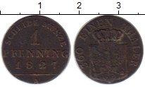 Изображение Монеты Германия Пруссия 1 пфенниг 1827 Медь XF