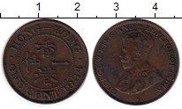 Изображение Монеты Китай Гонконг 1 цент 1934 Бронза VF