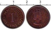 Изображение Монеты Африка Маврикий 1 цент 1971 Бронза XF