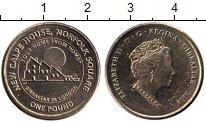 Изображение Банкноты Гибралтар 1 фунт 2018 Латунь UNC