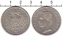 Изображение Монеты Бавария 2 марки 1903 Серебро VF
