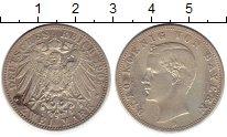 Изображение Монеты Бавария 2 марки 1905 Серебро VF D Отто
