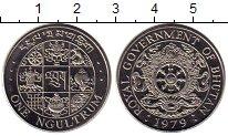 Изображение Монеты Бутан 1 нгултрум 1979 Медно-никель UNC
