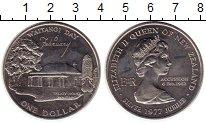 Изображение Монеты Новая Зеландия 1 доллар 1977 Медно-никель XF