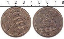 Изображение Монеты Северная Америка Антигуа и Барбуда 4 доллара 1970 Медно-никель UNC-