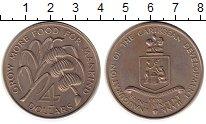 Изображение Монеты Северная Америка Сент-Винсент 4 доллара 1970 Медно-никель UNC-
