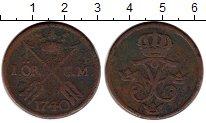 Изображение Монеты Швеция 1 эре 1740 Медь VF