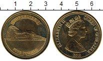 Изображение Монеты Гибралтар 5 фунтов 2010 Латунь UNC