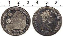 Изображение Монеты Гибралтар 3 фунта 2013 Медно-никель UNC- 300 лет Утрехтского