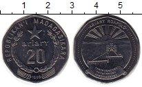 Изображение Монеты Мадагаскар 20 ариари 1999 Медно-никель UNC