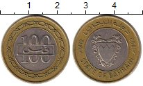 Изображение Монеты Бахрейн 100 филс 1992 Биметалл XF