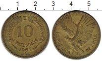Изображение Монеты Южная Америка Чили 10 сентесим 1965 Латунь XF