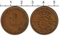 Изображение Монеты Ангола 1 эскудо 1956 Бронза XF-